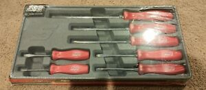 new 100th Anniversary Snap on 7pc Combination Screwdriver Set Sddx70amr