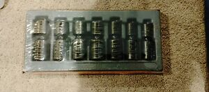 Snap on 1 2 Drive 14 To 24 Mm 6 point Impact Swivel Socket Set 307iplmy