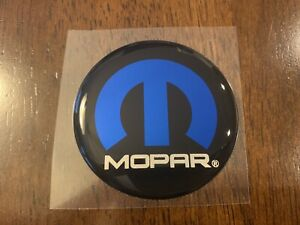 Challenger Mopar Fuel Door Badge