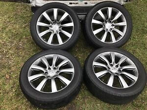 Infiniti Qx56 Qx80 2011 2019 Oem Rims Wheels Tires 22 set