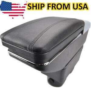 For Nissan Versa 07 2011 2012 Us Center Console Container Armrest Storage Box