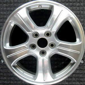 Honda Pilot Machined W Silver Pockets 18 Inch Oem Wheel 2012 To 2015
