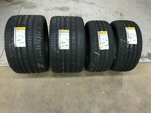 New Pirelli Performance Tires P355 25z R21 And P255 30zr20 Full Set