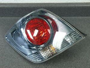 01 02 03 04 05 Lexus Is300 Sportcross Wagon Lh Tail Light Black Chrome