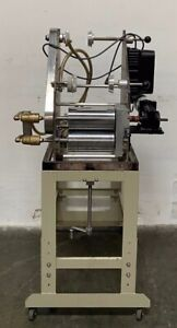2 Roll Laboratory Mill W Dc Motor And Cooling heating Capability