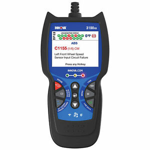 Innova 3100rs Fixassist Bluetooth Code Reader Vehicle Diagnostic Scanner Tool