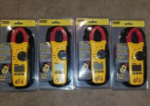 4 Nip Sperry Instruments Digital Clamp Meter Snap Around Dsa 500a With Bag
