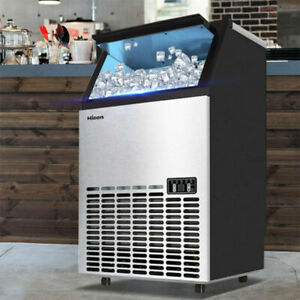 Open Box Built in Ice Cube Machine Undercounter Freestand Ice Maker Restaurant