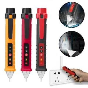 12 1000v Electric Non contact Voltage Tester Pen Ac Volt Alert Detector 10 Off