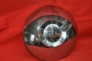 Vintage 1951 1952 Kaiser Special Deluxe Hubcap Dog Dish Wheel Cover 10 Chrome
