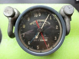Vtg Wc Dillon Dynamometer Chicago Illinois 1 000 Lbs Serial An 11689