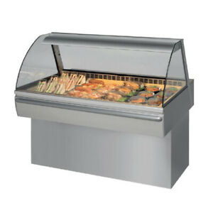 New Aged Frijado Cd4 Curved Refrigerated Deli Case