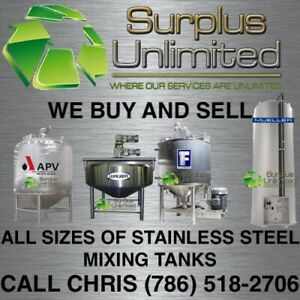 Steam Jacketed Processing Mixing Likwifier Ribbon Blender Stainless Steel Tanks