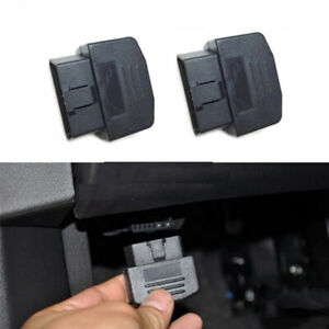 Universal 16pins Obd2 Male Connector Cable Adapter Terminal Diy Diagnostic Tools