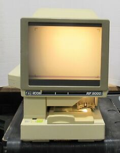 Eyecom Rp9000 Microfilm Microfiche Plain Paper Reader And Printer Power Tested
