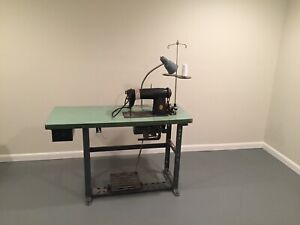 Singer Commercial Industrial Seeing Machine With Table
