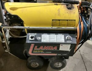 Landa Ohw4 20021a Commercial Electric diesel 2000psi Pressure Washer Usa