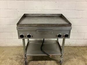 Griddle Electric Toastmaster 36 4 Burner Thermostat Controlled Tested
