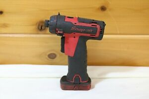 Snap on 14 4v 1 4 Screw Gun Cts761a With 1 Battery