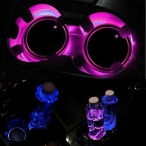 Led Cup Pad Car Accessories Light Cover Interior Decoration Lights Decor 10 off