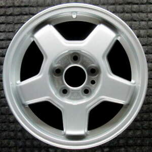 Volvo 740 All Silver 15 Inch Oem Wheel 1985 To 1992