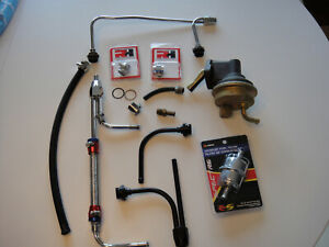 Holley Carburetor Misc Parts And Ac Fuel Pump Used