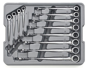 Gearwrench 85888 12 Piece Set Metric X beam Combination Ratcheting Wrench