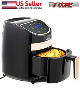 Hot Air Fryer Oven 3 2 Qt Electric Oil Less 1400w Touch Screen 5core Af320
