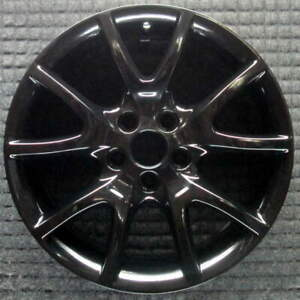 Dodge Dart Black 17 Inch Oem Wheel 2013 To 2017