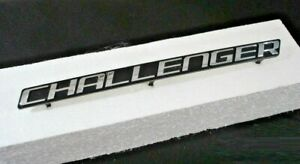 08 14 Dodge Challenger Grille Emblem Factory Mopar Oem Black Chrome