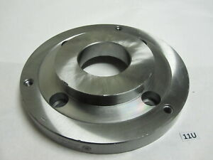 Bison Poland 10 Set tru Lathe Chuck Back Plate Adapter For A2 8 Spindle