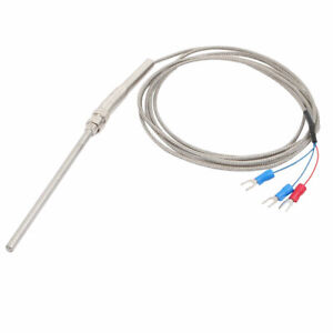 K type Thermocouple Probe Sensor Temperature Controller 2 Meters Length Wire