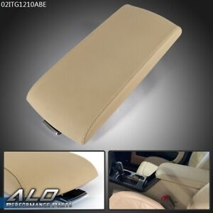 Front Center Console Armrest Lid Cover Beige For 2013 2017 Ford Flex Replacement