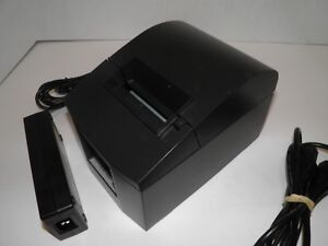 Star Tsp600 643 Thermal Pos Receipt Printer Usb W Power Supply Tested