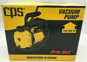 Cps Compact Series Vacuum Pump 2 Cfm Two stage 115v 50 60hz Vpc2du new