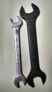 2 Large Open end Metric Wrenches see Description For Details On Each Wrench