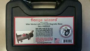 Flange Wizard Miter Marker Set Mms505 For Pipe And Structural Steel New