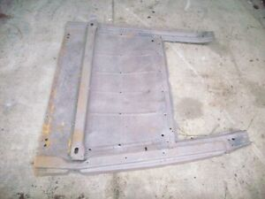 1928 1929 Ford Model A Pickup Body Sub Rails And Floor Section Truck Aa 28 29