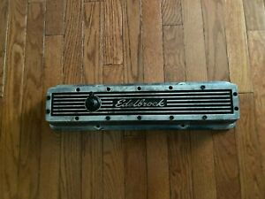 Single Chevrolet Small Block Edelbrock Value Cover