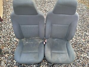 2006 Chevy Colorado Front Seat Set Driver And Passenger Bucket Seats Gray