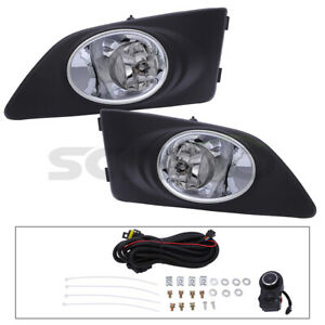 Fog Lights With Bulbs For 2011 2015 Chevy Aveo Bumper Fog Lights Driving Lamp
