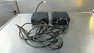 Lot Of 2 Vertex Model Vx 4000l Vx 4000v Two Way Radio