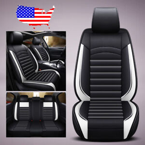 Us 9pcs Car Suv Leather Seat Covers Front Rear For Volkswagen Golf Jetta Passat