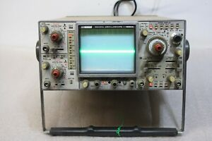 Vintage Bk Precision Oscilloscope 100mhz 1590a Came On No More Testing Was Done