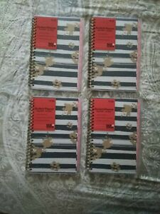 Planahead Student Planner Aug 2020 Jul 2012 5 75in X 8in Brand New lot Of 4