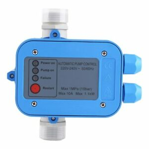 Automatic Water Pump Pressure Controller Auto Control Unit Electronic Switch
