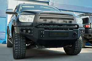 Front Steel Grille Black Polymer Fit For Toyota Tundra 2010 2013 With Lettering
