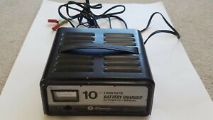 Vintage Schumacher 10 Amp Battery Charger Twin Rate Se 50ma Automatic manual