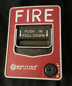 Notifier Nbg 12lx Fire Alarm Addressable Fire Alarm Pull Station Honeywell