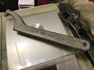 Armstrong 460 Hook Pin Spanner Wrench 5 16 Pin 3 Size